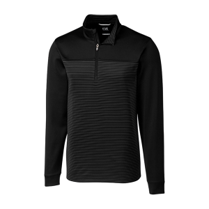 Cutter & Buck Men's DryTec™ Traverse Stripe Half-Zip