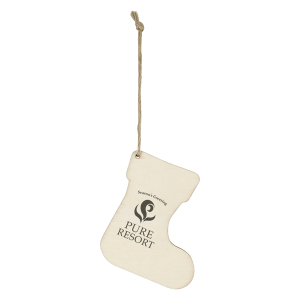Wood Ornament - Stocking